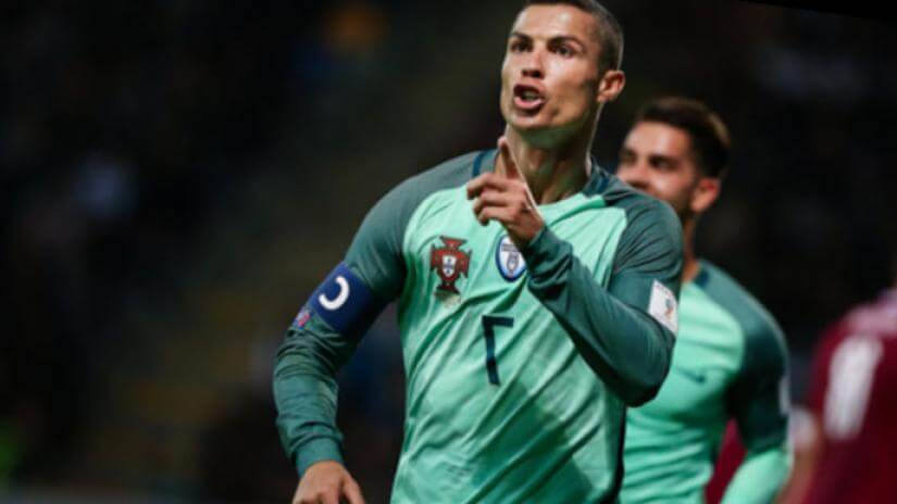 cristiano goleador mundial 2018