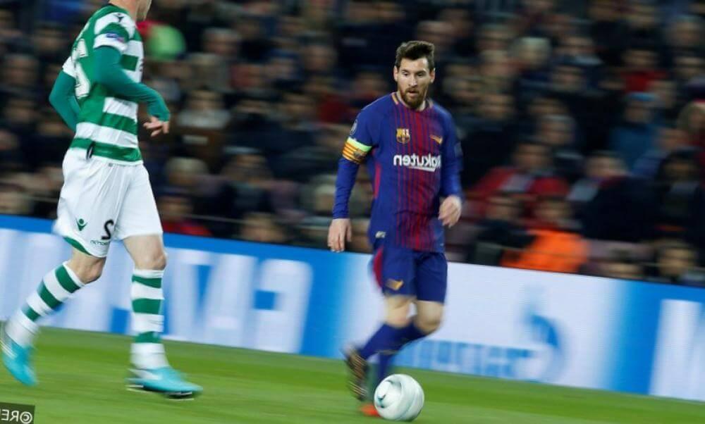 messi en roma barcelona champions