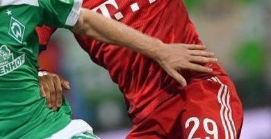 Mejores pronósticos Bayern Munich vs Werder Bremen 5