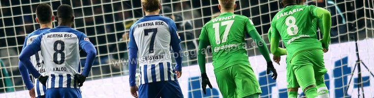 Cuotas Hertha BSC versus B. Monchengladbach del 21/12/2019 1