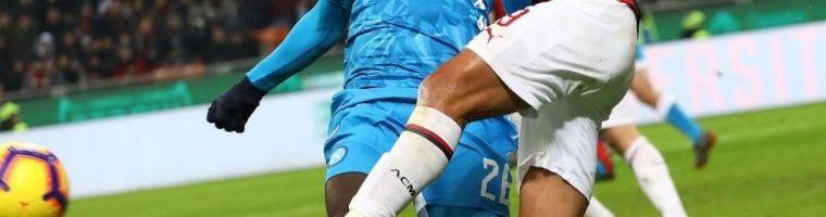 Cuotas Sassuolo Calcio vs Napoli del 22/12/2019 1