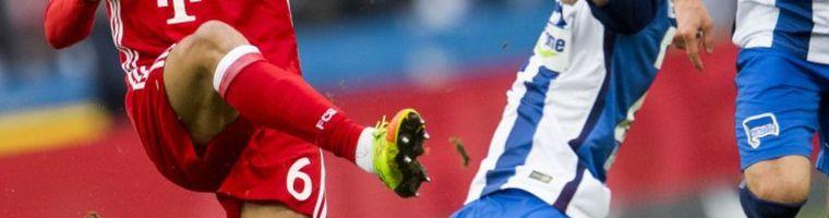 Cuotas Hertha BSC versus Bayern 1
