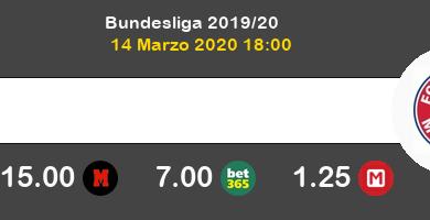 FC Union Berlin Bayern Pronostico 14/03/2020 4