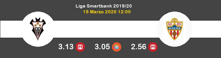 Albacete Almería Pronostico 15/03/2020 1