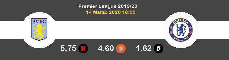 Aston Villa Chelsea Pronostico 14/03/2020 1
