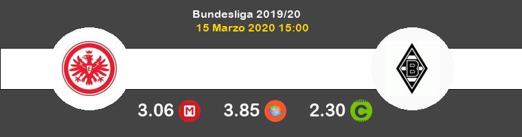 Eintracht Frankfurt Borussia Monchengladbach Pronostico 15/03/2020 1
