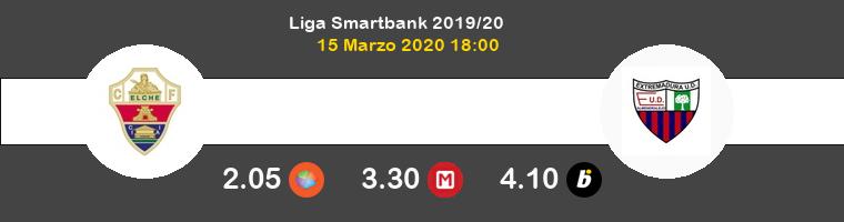 Elche Extremadura UD Pronostico 15/03/2020 1