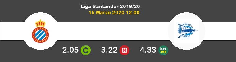 Espanyol Alavés Pronostico 15/03/2020 1