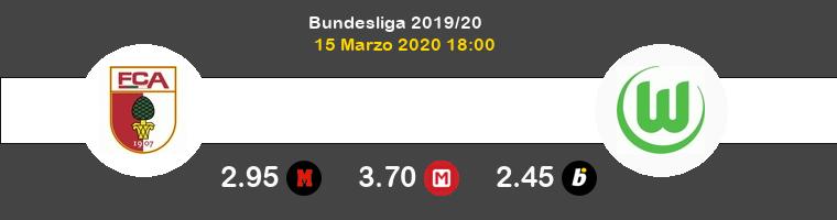 FC Augsburg Wolfsburgo Pronostico 15/03/2020 1