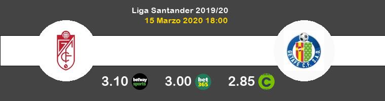 Granada CF Getafe Pronostico 15/03/2020 1