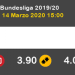 Hoffenheim Hertha Berlín Pronostico 14/03/2020 7