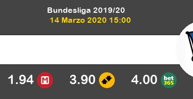 Hoffenheim Hertha Berlín Pronostico 14/03/2020 6