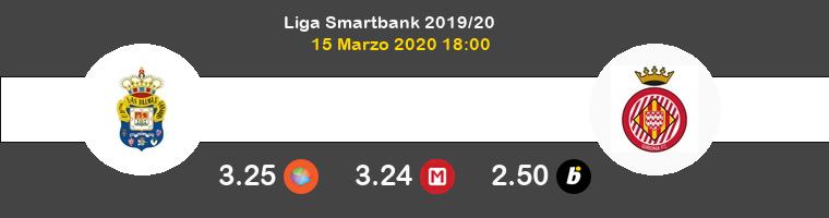 Las Palmas Girona Pronostico 15/03/2020 1