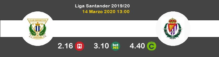 Leganés Real Valladolid Pronostico 14/03/2020 1