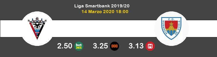 Mirandés Numancia Pronostico 14/03/2020 1