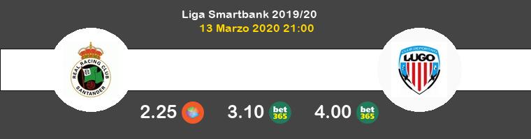Racing de Santander Lugo Pronostico 13/03/2020 1
