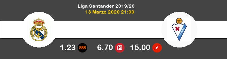 Real Madrid Eibar Pronostico 13/03/2020 1