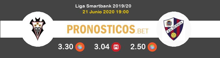 Albacete Huesca Pronostico 21/06/2020 1