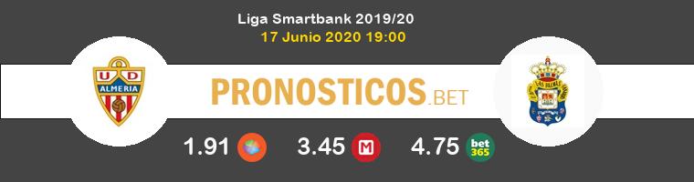 Almería Las Palmas Pronostico 17/06/2020 1