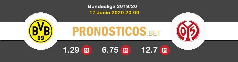Dortmund Mainz 05 Pronostico 17/06/2020 1