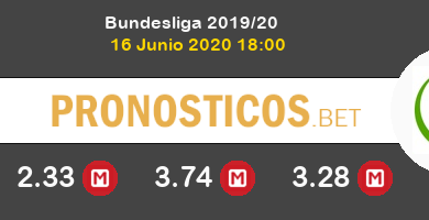 Monchengladbach Wolfsburgo Pronostico 16/06/2020 6