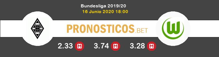 Monchengladbach Wolfsburgo Pronostico 16/06/2020 1