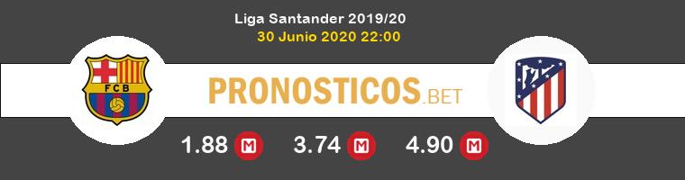 Barcelona Atlético de Madrid Pronostico 30/06/2020 1