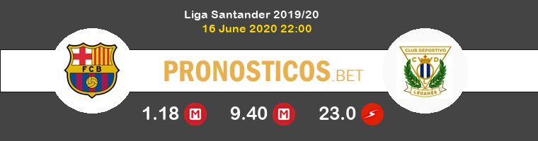Barcelona Leganés Pronostico 16/06/2020 1