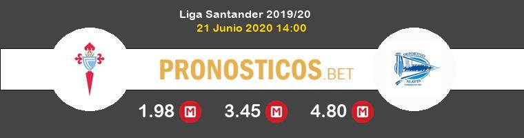 Celta Alavés Pronostico 21/06/2020 1