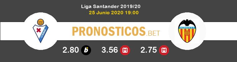 Eibar Valencia Pronostico 25/06/2020 1