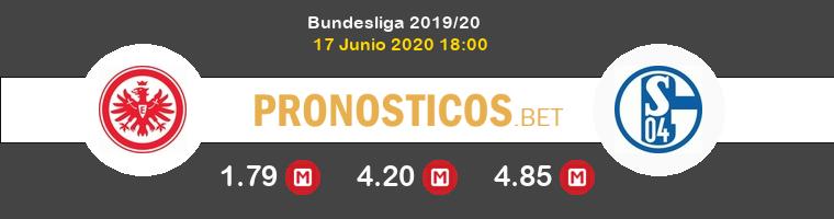 Eintracht Frankfurt Schalke 04 Pronostico 17/06/2020 1