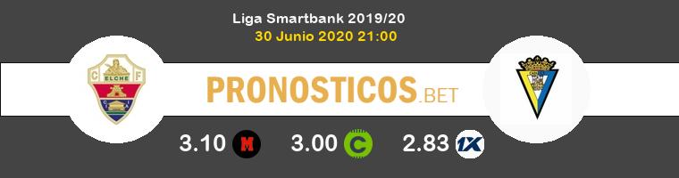 Elche Cádiz Pronostico 30/06/2020 1