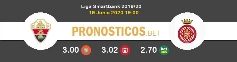 Elche Girona Pronostico 19/06/2020 1