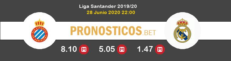 Espanyol Real Madrid Pronostico 28/06/2020 1