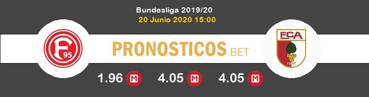 Fortuna Düsseldorf FC Augsburgo Pronostico 20/06/2020 1