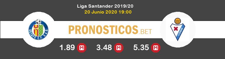 Getafe Eibar Pronostico 20/06/2020 1