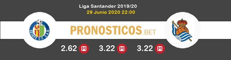 Getafe Real Sociedad Pronostico 29/06/2020 1