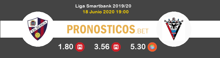 Huesca Mirandés Pronostico 18/06/2020 1