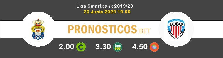 Las Palmas Lugo Pronostico 20/06/2020 1