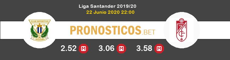 Leganés Granada CF Pronostico 22/06/2020 1