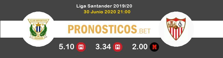 Leganés Sevilla Pronostico 30/06/2020 1