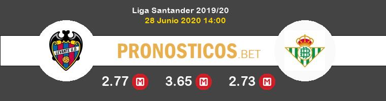 Levante Real Betis Pronostico 28/06/2020 1