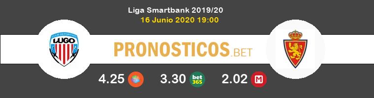 Lugo Zaragoza Pronostico 16/06/2020 1