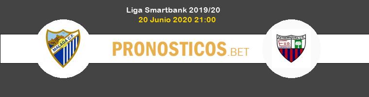 Málaga Extremadura UD Pronostico 20/06/2020 1