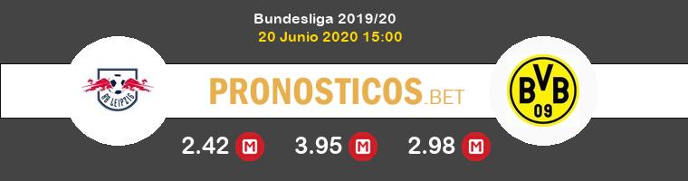 Red Bull Leipzig Borussia Dortmund Pronostico 20/06/2020 1