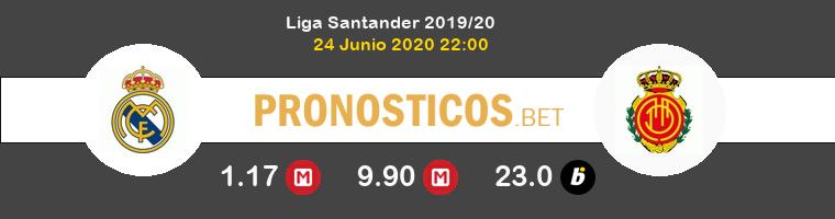 Real Madrid Mallorca Pronostico 24/06/2020 1