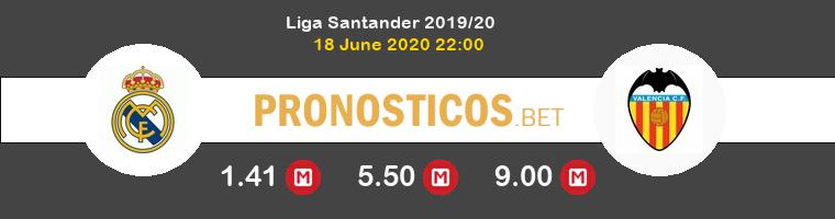 Real Madrid Valencia Pronostico 18/06/2020 1