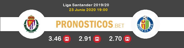 Real Valladolid Getafe Pronostico 23/06/2020 1
