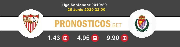 Sevilla Real Valladolid Pronostico 26/06/2020 1