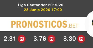 Villarreal Valencia Pronostico 28/06/2020 4